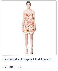 Fashionista Bloggers Must Have Sexy Floral Print Jumpsuit Playsuit by Zara XS