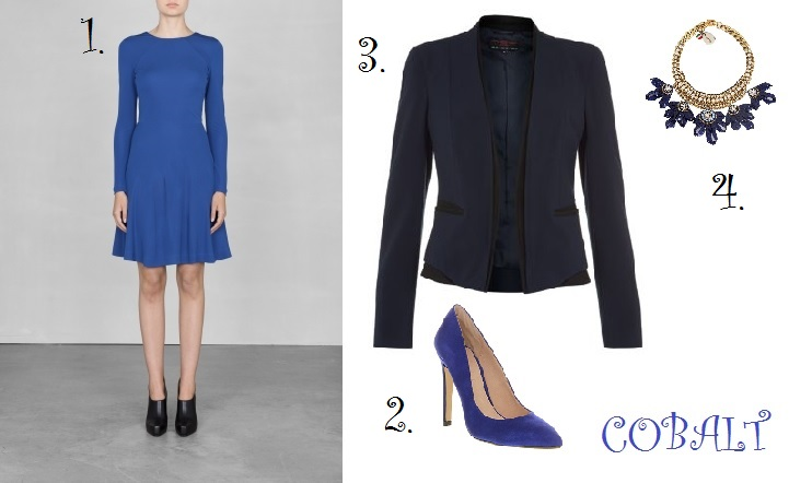 1.  Dress, & other stories 2. Shoes, office 3. Jacket New Look 4. Necklace, SVEVA at Liberty