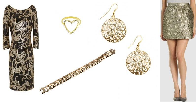 Dress House of Fraser, Skirt Valentino, ring Blondon, Oliver Bonas earrings, House of Fraser bracelet