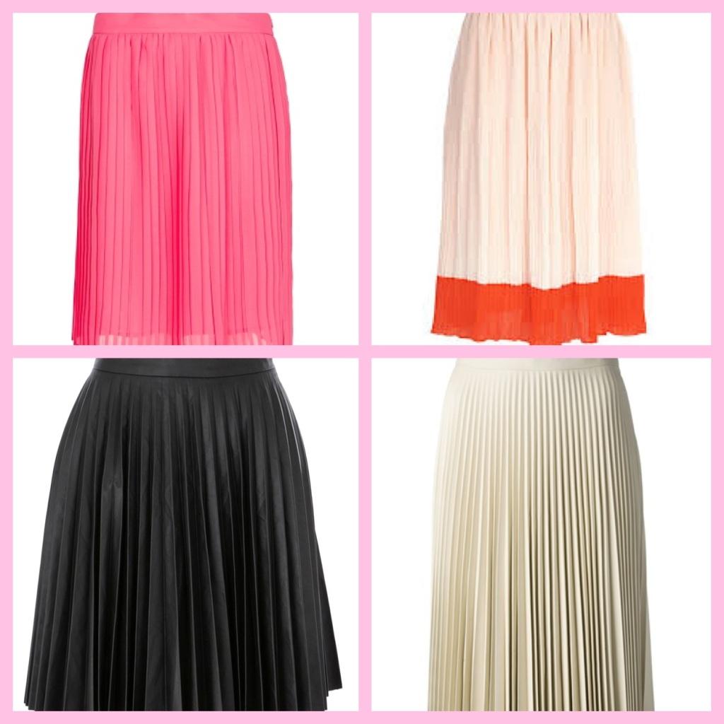 K Loves... Pleated skirts