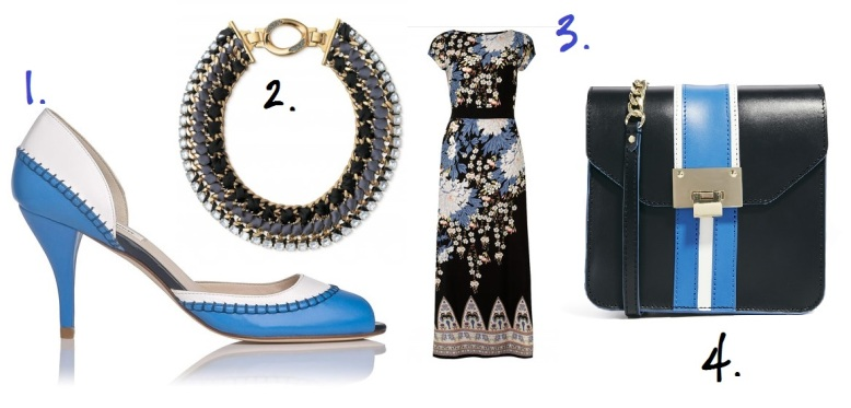 1. LK Bennett, 2. Stella and Dot, 3. Dorothy Perkins, 4. ASOS