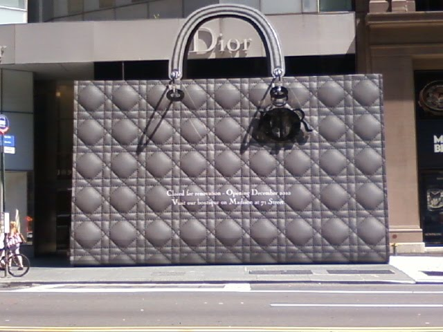 Maybe Dior went a little too far with this one