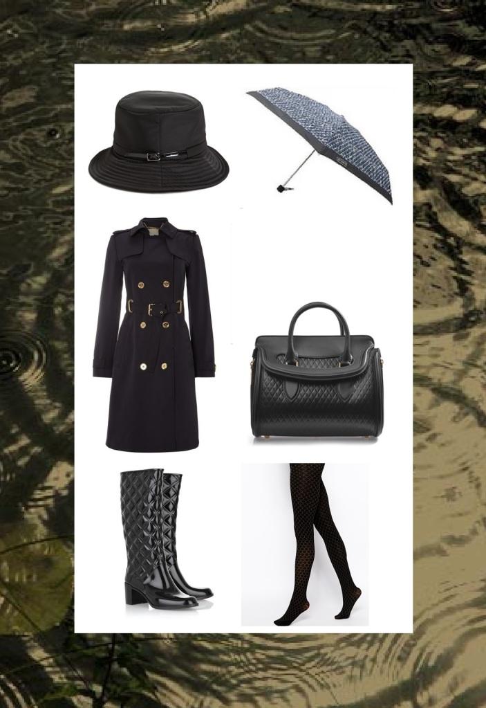 The British Fashionista London Rain Style