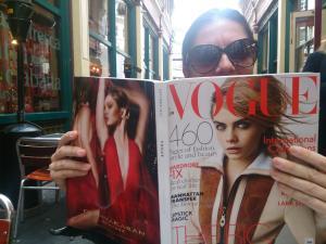 The British Fashionista in the City