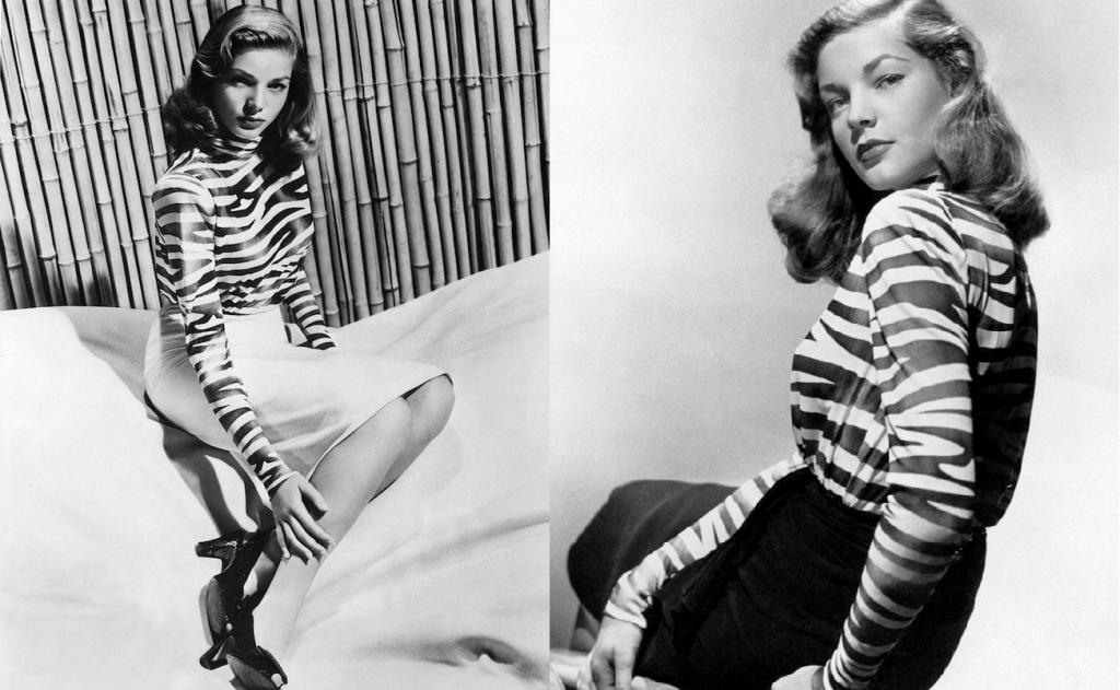 The late, great Lauran Bacall