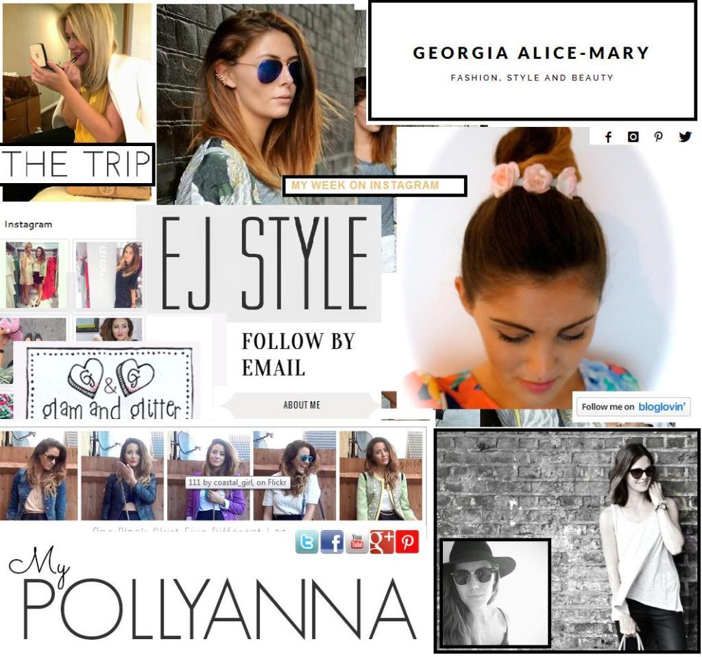 My Blogger Tear Sheet