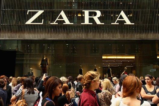 Zara Sydney Store Opening