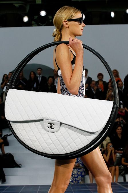 The Chanel Hula Hoop, not very practical for my commute