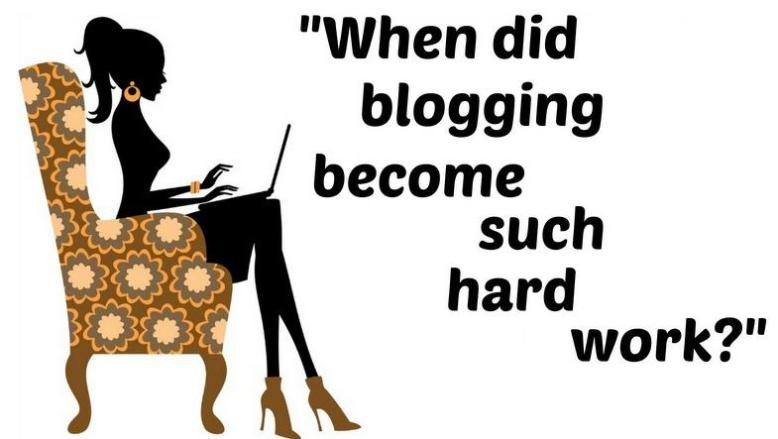 Blogging Should be Fun