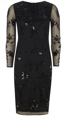 Embellished Pencil Dress £75.00
