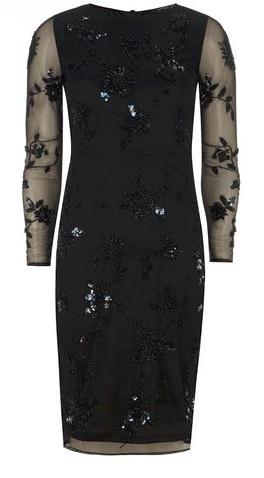 Embellished Pencil Dress £75.00