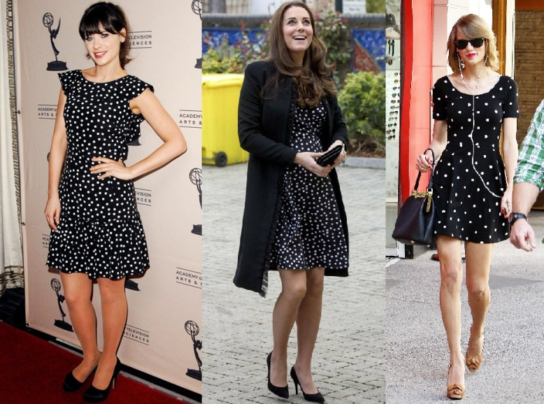 Zooey, Kate and Taylor Rock the Dot